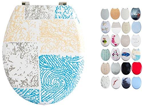 MSV Asiento WC, Madera, Multicolor, 42.5x36.5x3 cm, 70 Unidades
