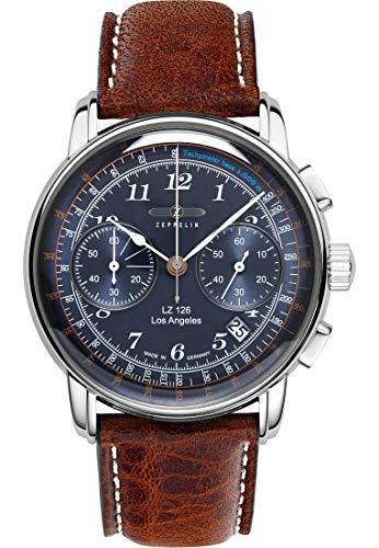 Zeppelin Herren-Uhren Analog Quarz One Size 87656331
