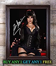 Elvira, Mistress of The Dark Autographed Signed Reprint 8x10 Photo #94 Special Unique Gifts Ideas for Him Her Best Friends Birthday Christmas Xmas Valentines Anniversary Fathers Mothers Day