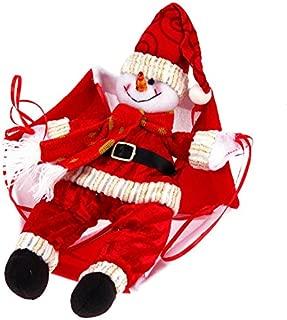 Pendant & Drop Ornaments - Christmas Santa Claus Snowman Parachute Toys Pendant Xmas Tree Hanging Ornaments Year Shop Showcase - Murder 2019 Leggings Supplies Ornaments Balloons Jacket s In