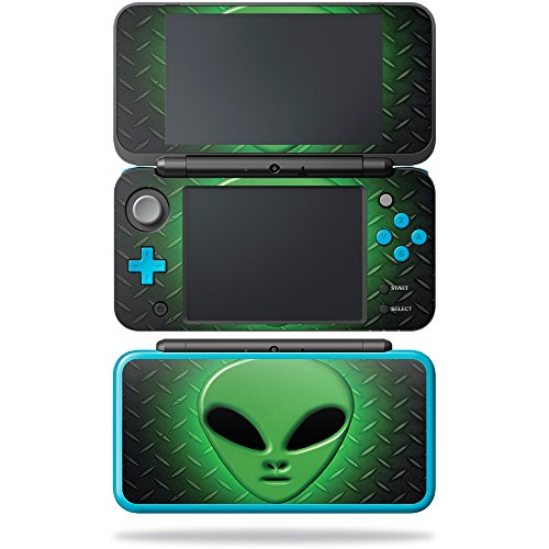 MightySkins Skin Compatible with Nintendo New 2DS XL - Pink Diamond | Protective, Durable, and Unique Vinyl Decal wrap Cover | Easy to Apply, Remove, and Change Styles | Made in The USA