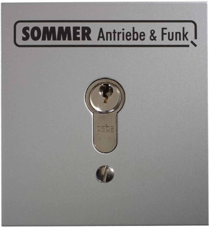 Sommer Schlüsseltaster 5003V000 1Kont.m.Zyl. uP Taster 4015862050038 B0018LJJ16 | Erste Gruppe von Kunden