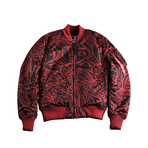 ALPHA INDUSTRIES Giacca Bomber MA-1 VF Tonga bordeaux S