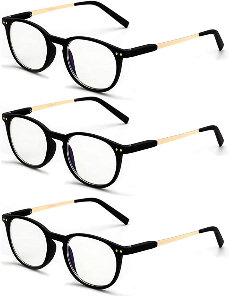 3 Pack TR90 Computer Blue Light Wom Blocking for NEW before selling New Shipping Free Reading Glasses
