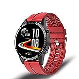 ZUEN I9 Nuevo Reloj Inteligente Modo Multi-Deporte De Los Hombres De La Frecuencia Cardíaca Llamada Telefónica del Bluetooth Reloj Inteligente Marca Impermeable Adecuada para Huawei Android iOS,E