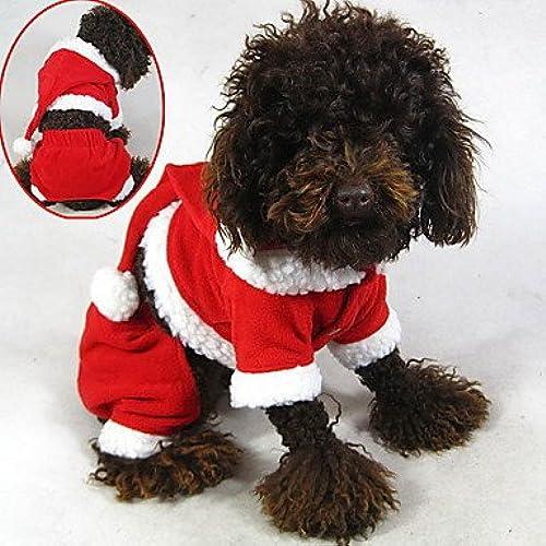 comprar marca Y-Hui Disfraz de de de Gato y Perro, Sudadera con Capucha, Ropa de Perro, Ropa roja para Invierno, Dulce sólido, Cosplay, Navidad  100% autentico