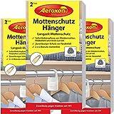 Aeroxon Mottenschutz-Hänger - 3x2 Stück - Verlässliche