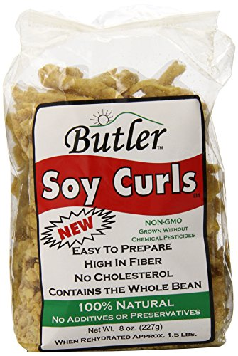 Butler Foods, Soy Curls, 8 Ounce