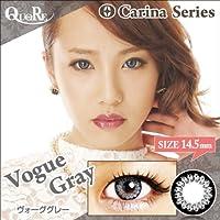 カラコン 度なし 1箱2枚入り QuoRe Carina Series/ソブレ/119224 14.5mm【VogueGray--0.00】
