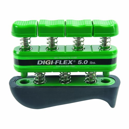 DigiFlex Green Hand and Finger Exercise System 5 lbs Resistance