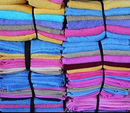 Lotes de Toallas - Sabanas Hosteleria - Restos de Stock Purpura Home 500 gr. algodón Peinado, 100% algodón Toallas de baño | Manos, Cara, Gimnasio y SPA (Pack 6 Unidades, Ducha 70 x 140)