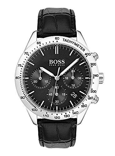 Hugo BOSS Reloj Cronógrafo para Hombre de Cuarzo con Correa en Cuero 1513579