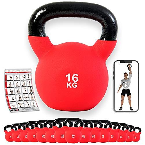 POWRX -   Kettlebell 4-30 kg