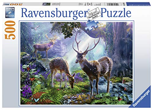 Ravensburger 148288 Puzzel Herten In Het Bos - Legpuzzel - 500 Stukjes