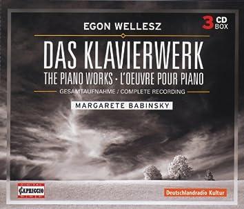 Wellesz, E.: Piano Music (Complete)