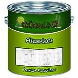 Grünwalder Premium 2K - Pintura para azulejos (1 L, color blanco)