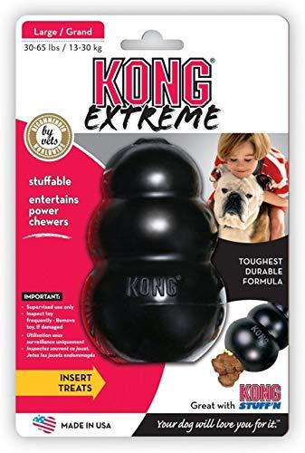 Kong Extreme - Hondenspeelgoed - Zwart - XL