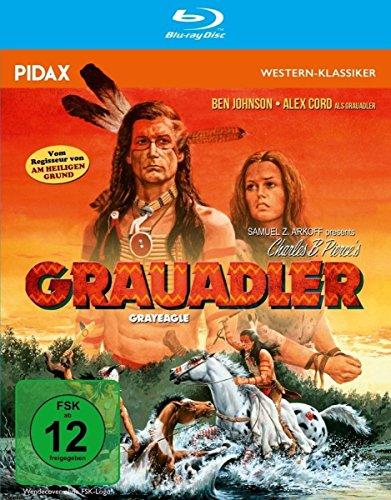 Grauadler (Grayeagle) / Spannendes Westernabenteuer vom Regisseur von WINTERWAWK und AM HEILIGEN GRUND (Pidax Western-Klassiker) [Blu-ray]