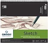 Canson c10051101114'x 17' reciclado Sketch hoja Pad
