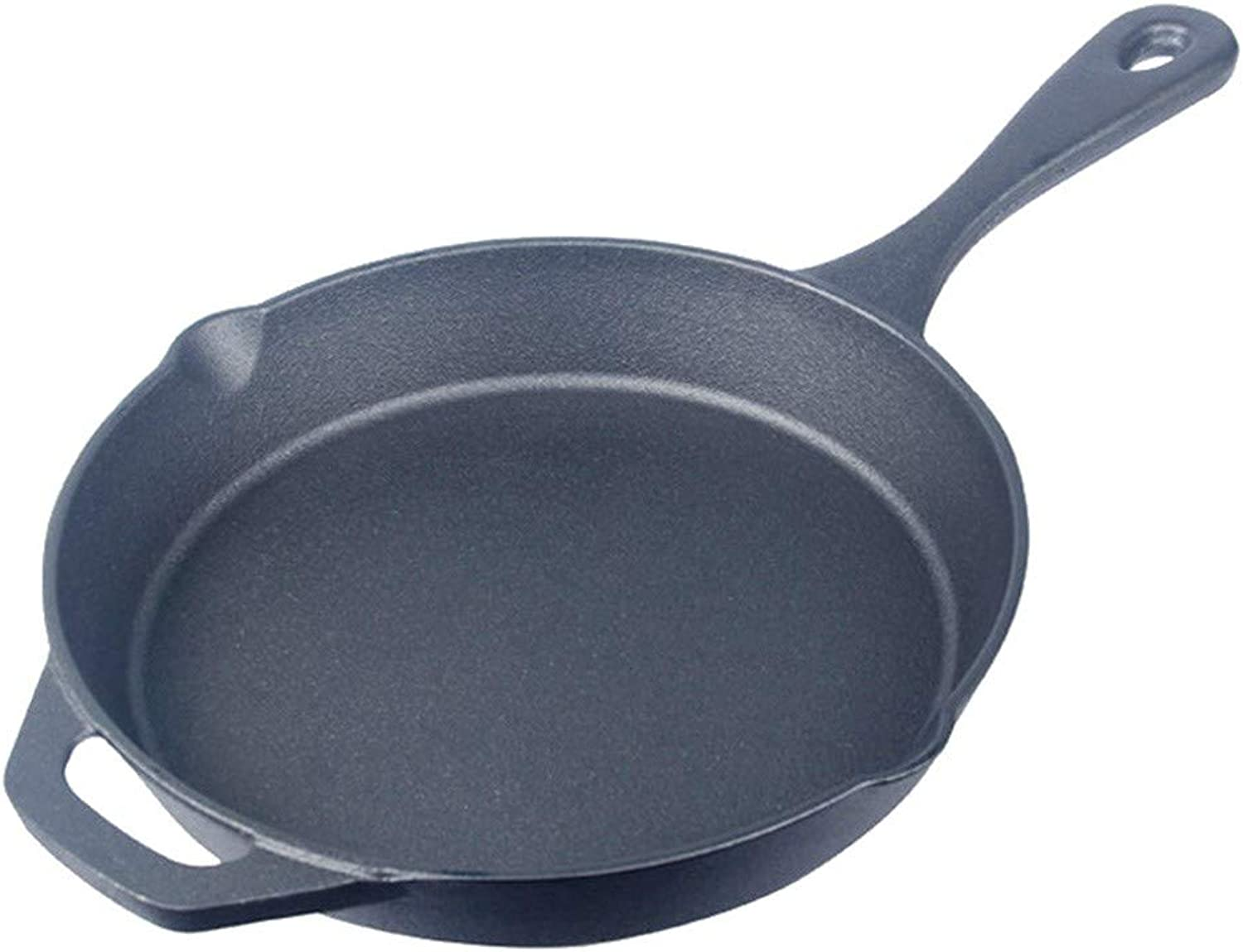 Frying Pan NonStick Cast Iron Pan All Stove Induction 24 cm Black