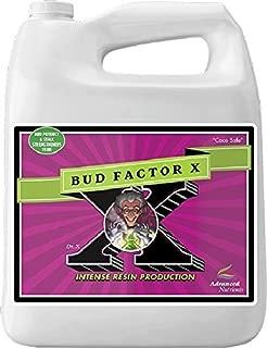 Advanced Nutrients 2340-15 Bud Factor X Fertilizer, 4 Liter, Brown/A
