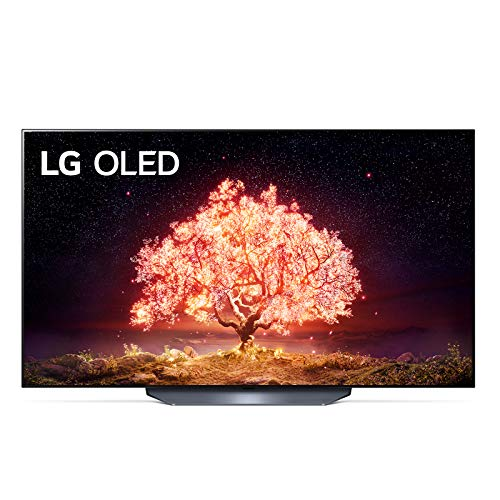 LG OLED55B16LA Smart TV 4K 55', TV OLED Serie B1 2021 con Processore α7 Gen4, Dolby Vision IQ, Wi-Fi, webOS 6.0, FILMMAKER MODE, Google Assistant e Alexa Integrati, 2 HDMI 2.1, Telecomando Puntatore