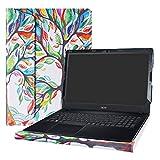 Alapmk Protective Case Cover for 15.6' Acer Aspire E5 E5-575 E5-575G E5-575T E5-576 E5-576G E5-553 E5-553G/Aspire F 15 F5-573G F5-573/Aspire ES 15 ES1-572 ES1-533 Serie Laptop,Love Tree
