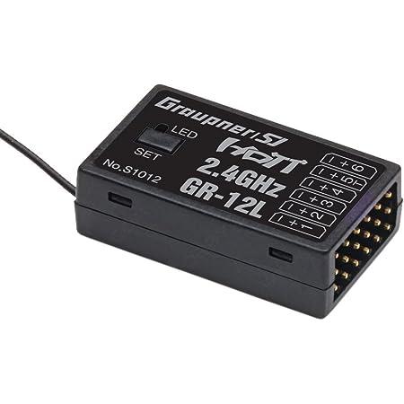 Graupner Empfänger GR-12L HoTT 2.4 GHz 6 Kanal #S1012