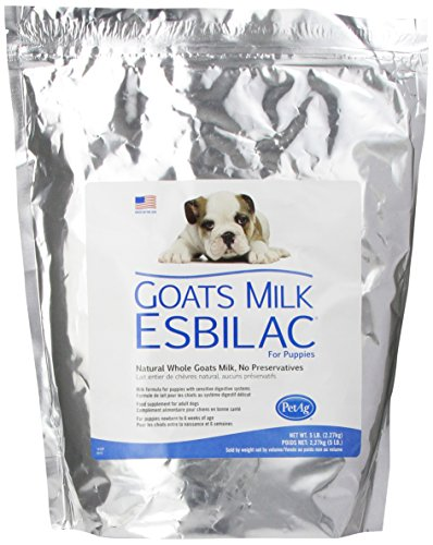 Goat's Milk Esbilac GME Powder Milk Formula for Puppies with Sensitive Digestive Systems 5lb