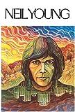 Neil Young / 1st Album Poster Drucken (60,96 x 91,44 cm)
