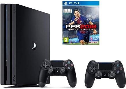 Sony PS4 PRO 4K 1TB + PES 2018 ( Türkçe ) + V2 SONY PS4 KOL