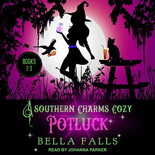 A Southern Charms Cozy Potluck: A Paranormal Cozy Mystery Box Set, Books 1-3