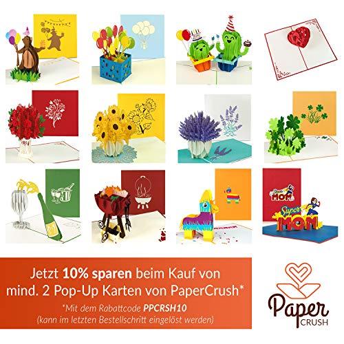 51kJL2DbHiL - PaperCrush® Pop-Up Karte Vatertag Grill - 3D Geburtstagskarte für Ihn, Männer Glückwunschkarte, Mitbringsel für Grillparty, Grillen - Lustige Geschenkkarte für Papa, besten Freund, 18. Geburtstag