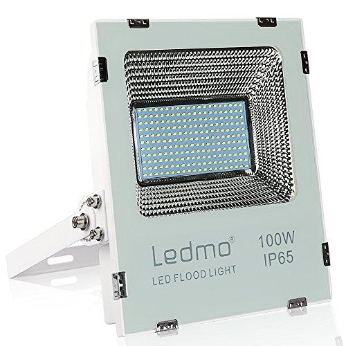 Projecteur Led exterieur 100W 6000K projecteur led blanc IP65 10000lm équivalent halogène 500W, lumières de sécurité, projecteur led 100w pour jardin