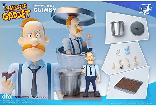 Blitzway Inspector Gadget Mega Hero Action Figure 1/12 Quimby 13 cm Figures