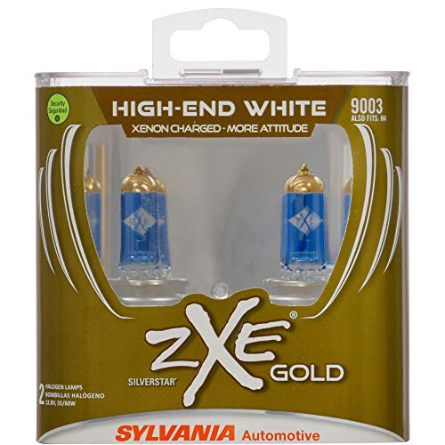 SYLVANIA 9003 (also fits H4) XtraVision Halogen Headlight Bulb, (Contains 2 Bulbs)