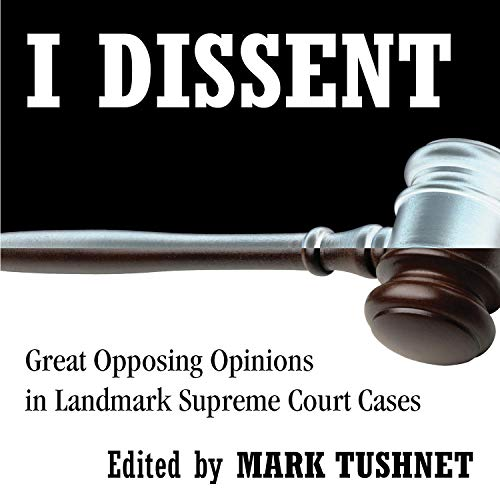 I Dissent audiobook cover art