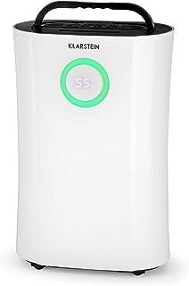 Klarstein Clear DryFy Pro Deshumidificador compresión - Secador de Aire, Acondicionador Ambiente, Purificador, Función UV, Humedad programable, Temporizador, 18 a 20m², 4 L, Blanco