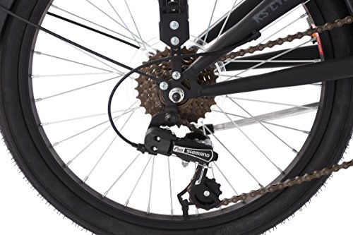 KS Cycling Faltrad Cityfold Fahrrad, schwarz, 20 - 3