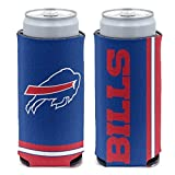 WinCraft NFL Buffalo Bills Slim Can Cooler, Team Colors, One Size