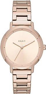 DKNY - Reloj de cuarzo para mujer, de acero inoxidable, diseño moderno