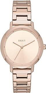 DKNY NY2637 Reloj Análogo para Mujer, color Rosa