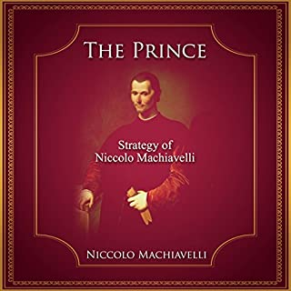 The Prince audiobook cover art