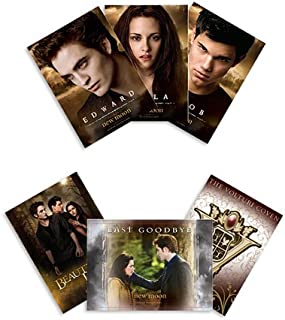 The Twilight Saga: New Moon Merchandise - Trading Cards (Pack Of 6 Cards)