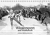 Wintersport und Wettbewerb (Tischkalender 2021 DIN A5 quer)