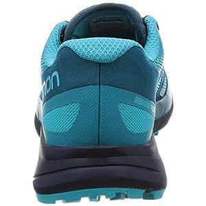 SALOMON Sense Ride Running Shoe - Women's Blue Bird/Deep Lagoon/Navy Blazer 8