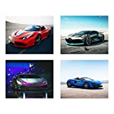 Insire Sports Car Poster Drucke (25,4 x 20,3 cm) Super Car