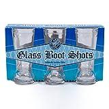 Mini Glass Boot 3 Pack Shot Glasses Standard
