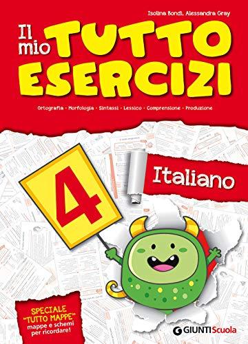 Il tutto esercizi italiano. Per la Scuola elementare 4: Vol. 4