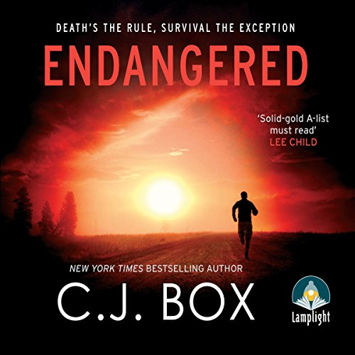 Endangered                   By:                                                                                                                                 C. J. Box                               Narrated by:                                                                                                                                 David Chandler                      Length: 10 hrs and 20 mins     13 ratings     Overall 4.5